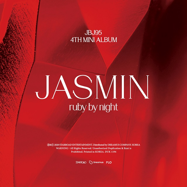 4th Mini Album [JASMIN] ruby by night Ver.